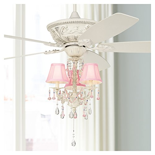 Pretty-in-Pink Pull-Chain Ceiling Fan Light Kit by Universal Lighting and Decor (Image #1)