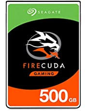 Seagate 500GB FireCuda Gaming SSHD SATA 6Gb/s Flash Accelerated (8GB) Performance Hard Drive (ST500LX025)