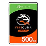 Seagate FireCuda 500GB Solid State Hybrid Drive Performance SSHD - 2.5 Inch SATA 6Gb/s Flash Accelerated for Gaming PC Laptop (ST500LX025)