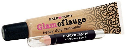 Hard Candy GLAMOFLAUGE #314 TAN Heavy Duty Tattoo/Scar CONCEALER+PENCIL by Hard Candy