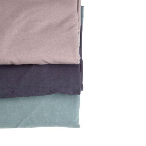 tour de lit bébé couleur uni Airdeje   Tour de lit uni Bleu Gris: Amazon.fr: Bébés & Puériculture tour de lit bébé couleur uni