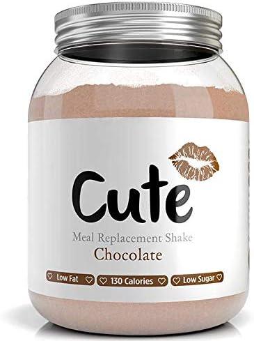 Cute Nutrition Batido de Reemplazo de Comida Sabor Chocolate para ...