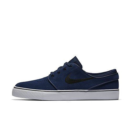 low priced e9a86 218d7 Galleon - Nike Men s Zoom Stefan Janoski Binary Blue Black Skate Shoe 8.5 Men  US