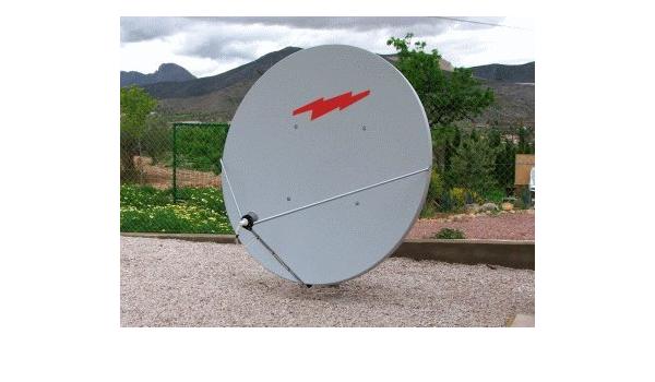 Raven Channel Master - Cuenco para antena satélite (2,4 m ...
