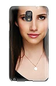 Top Quality Protection Emma Roberts?wallpaper Case Cover For Galaxy Note 3
