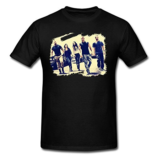 SusanMarket Men's Fast Furious Vin Diesel Cotton Round Collar T - Diesel Vin Shirt