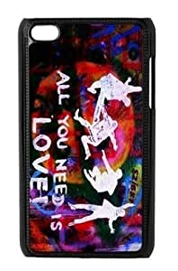 Beatles Hard Plastic Protective Cover Case For IPOD Touch 4 4th Generation (WCA Custom Designed)