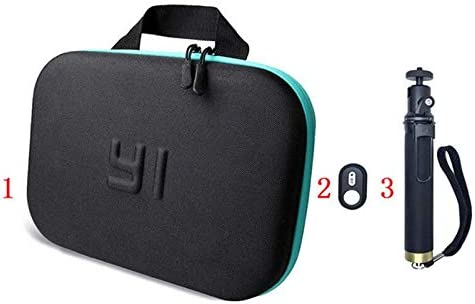SIZOO - Sports Camcorder Cases - Bag For for Xiaomi Yi Bluetooth Extendable Selfie Stick Monopod Wireless Remote Control For XIAOYI 4K 4k+ Yi Lite Camera Accessories (Remote Control)