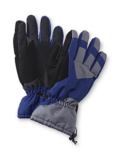 nordic-track-mens-blue-gray-thinsulate-winter-snow-ski-gloves-snowboarding-l-xl