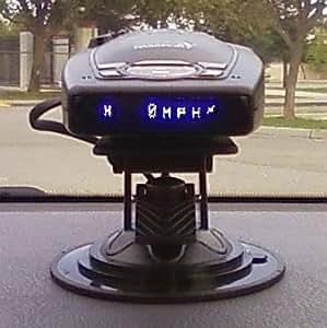 car dash windshield mount for escort passport 9500ix 8500 x50 radar detector. Black Bedroom Furniture Sets. Home Design Ideas
