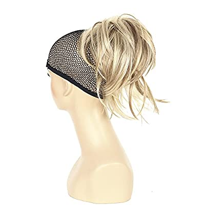 Lydell Adjustable Messy Style Ponytail Hair Extension Synthetic Hair-Piece with Jaw Claw Amzing Shape For You