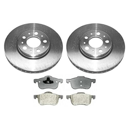 4 OEM Replacement Great-Life Premium Disc Brake Rotors SHIPS FROM USA!!-Tax Incl. 8 Semi-Met Pads Odyssey 5lug F+R Full Kit -Combo Brake Kit-