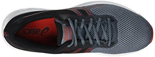Asics Gel-Phoenix 9, Chaussures de Running Homme, Noir Multicolore (Ironclad/Classic Red 020)