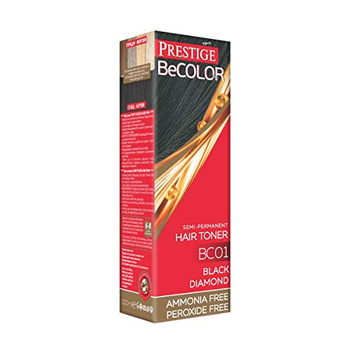 🥇 Vips Prestige – BeColor Tinte Semi Permanente Color Diamante Negro BC01