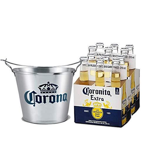 Kit 12 Coronitas + Balde Corona