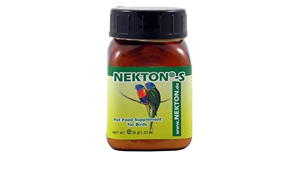 Amazon.com: Necton-S Multi-Vitamina para las Aves, 35gm, (1,23 onzas): Health & Personal Care
