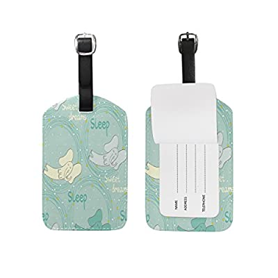 Saobao Travel Luggage Tag Antique Crafts PU Leather Baggage Suitcase Travel ID Bag Tag 1Pcs