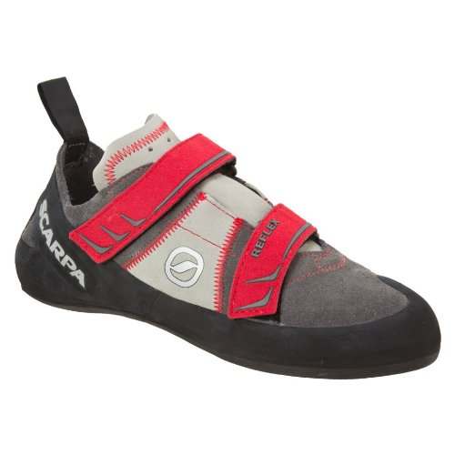 SCARPA Men's Reflex Climbing Shoe,Smoke/Parrot,39.5 EU/7 M US by SCARPA