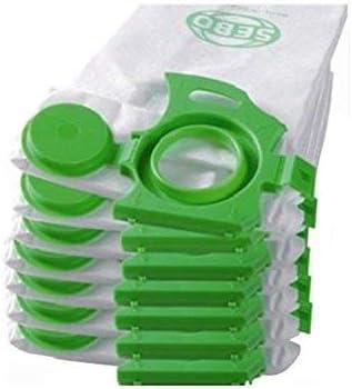 7029-10PACK 10x 3 Layer Dust Bags for Sebo Dart & Felix Models