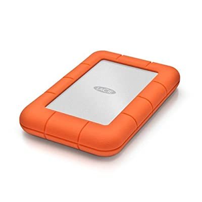 LaCie Rugged Mini Portable Hard Drive + 1mo Adobe CC All Apps by Lacie