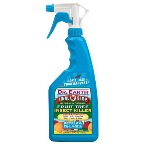 Dr. Earth 8006 Ready to Use Fruit Tree Insect Killer, 24-Ounce (Best Doctor On Earth)