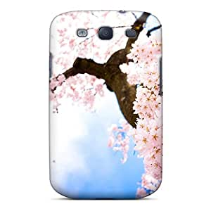 New Style Case Cover PNXKtmB7669dGOiU Cherry Blossom Tree Compatible With Galaxy S3 Protection Case