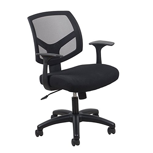 Essentials Swivel Mesh Back Task Chair with Arms - Ergonomic Computer/Office Chair (ESS-3030) by OFM