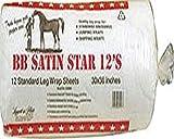 """BB Star Cotton Leg Wrap, 30"""" x 36"""" 12'S"""