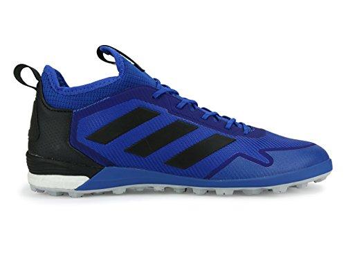 Zapatillas De Fútbol Adidas Hombres Ace Tango 17.1 Turf Azul / Negro