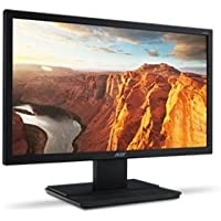 Acer UM.IV6AA.A01 V206HQ - LED monitor - 20 inch - 1600 x 900 - 200 cd/m2 - 100000000:1 (dynamic) - 5 ms - DVI, VGA - speakers - black