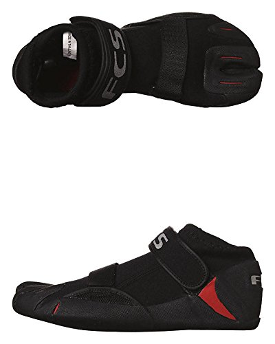 FCS SP2 Split Toe Reef Bootie - Black/Red