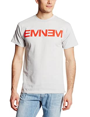 Bravado Men's Eminem Logo T-Shirt Grey