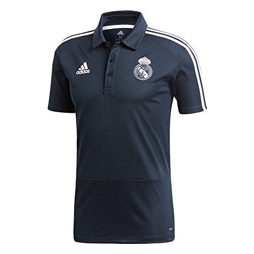 Claro Hombre Adidas Gris Polo Real blanco negro 6B6H4FI