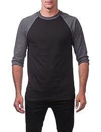 Men's 3/4 Sleeve Crew Neck Baseball Shirt