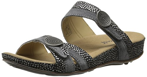 Romika Women's Fidschi 22 dress Sandal, black Kombi, 37 EU/6-6.5 M US by Romika