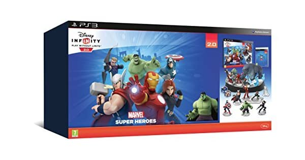 Disney Infinity 2.0 Collectors Edition Avengers Starter Pack (PS3) by Disney: Amazon.es: Videojuegos