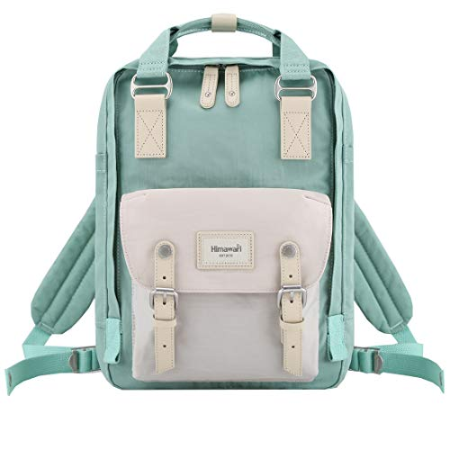 Himawari School Waterproof Backpack 14.9″ College Vintage Travel Bag for Women,14 inch Laptop for Student (HIM-66#)
