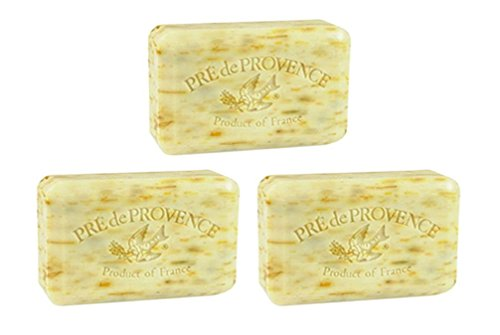 (Pack of 3 Pre de Provence 250g Shea Butter Enriched Soaps - Angel's Trumpet)