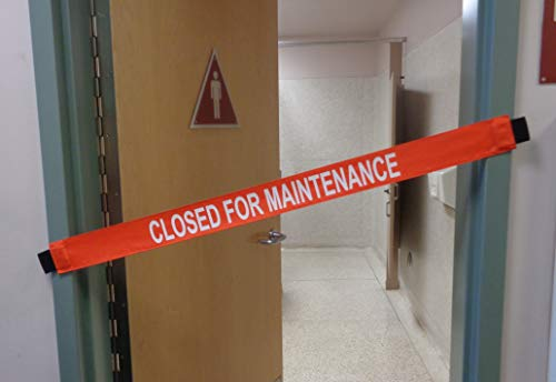 Closed For Maintenance Signs with Magnetic - Door Magnetic Sign