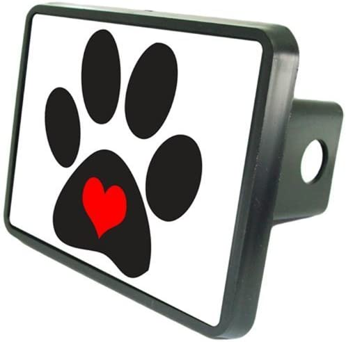 Redeye Laserworks Dog Paws Hitch Cover 1 1//4 Receiver from