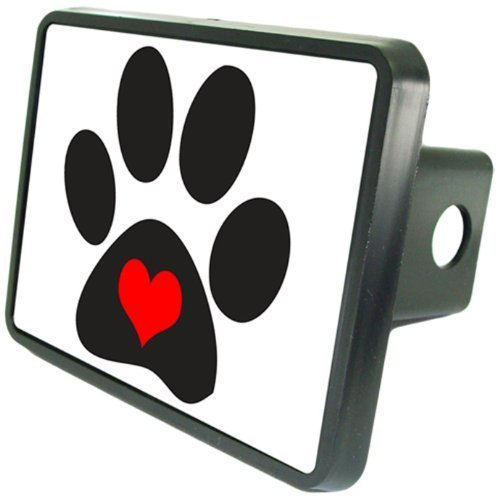 - Dog Paws Hitch Cover 2
