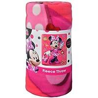 Disney Minnie Mouse Unstoppable 45x60 Fleece Throw Blanket