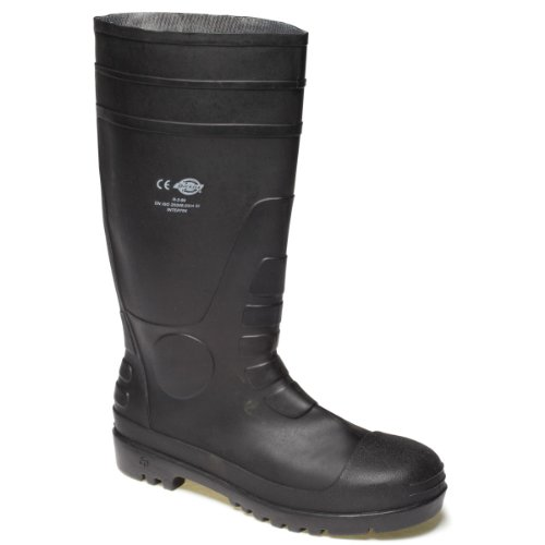 Dickies Super Safety Wellington Colour=Black Size=9 fMXbCp
