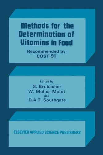 Methods for the Determination of Vitamins in Food: Recommended by COST 91