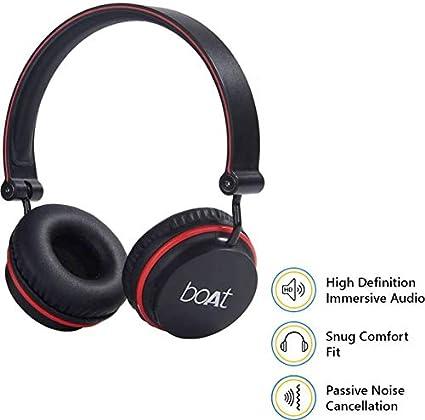 65200d8b51d Boat Super Bass Rockerz 400 Bluetooth On-Ear Headphones: Amazon.in:  Electronics