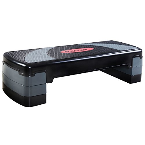 Giantex 30'' Fitness Aerobic Step Adjust 4