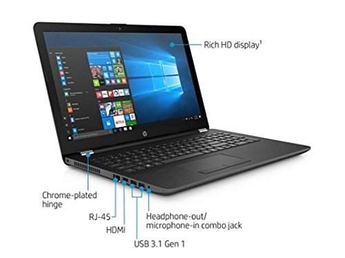 2018 Newest HP 15.6 Inch Premium Flagship Notebook Laptop Computer (Intel Core i7-7500U 2.7 GHz, up to 3.5 GHz, 8GB DDR4 RAM, 256GB SSD, Intel HD Graphics 620, HD Webcam, Windows 10)