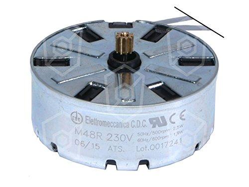 Moteur CDC pour Minuteur Ø 47mm 230V AC 50/60Hz droite type de moteur CODE m48r ATS Sens de rotation droite