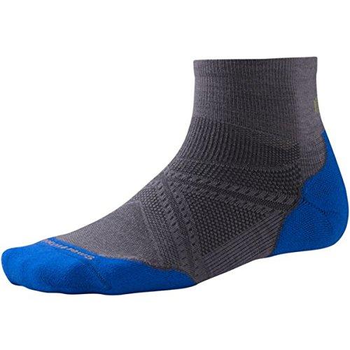 Smartwool Men's PhD Run Light Elite Mini Socks - Smartwool Athletic Light Mini