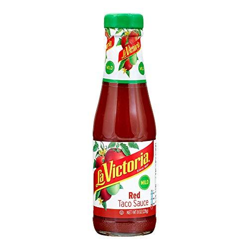 (La Victoria Red Taco Sauce Mild, 8 Ounce)